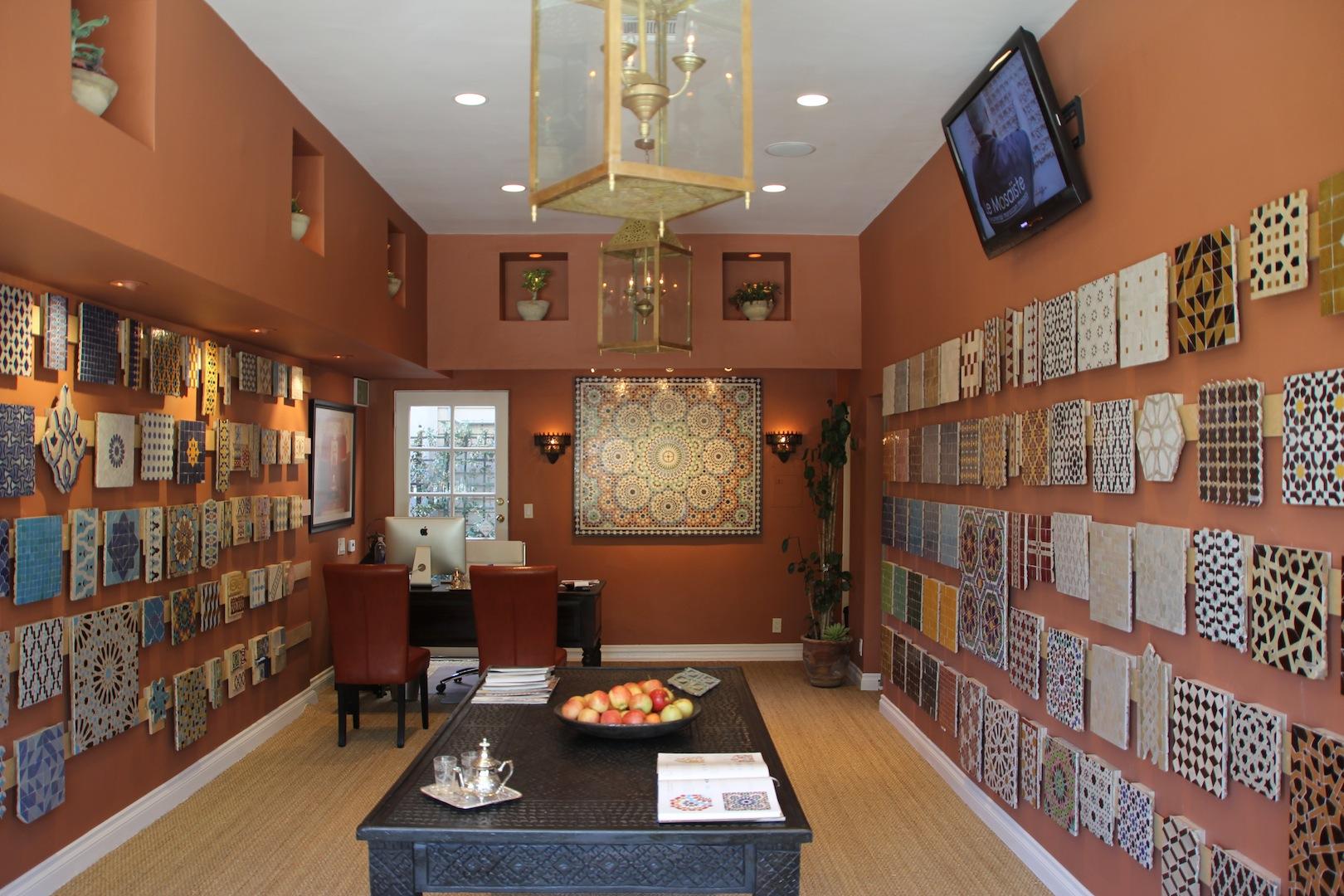 Moroccan tiles the official zellij gallery blog - Interior design tiles showroom ...