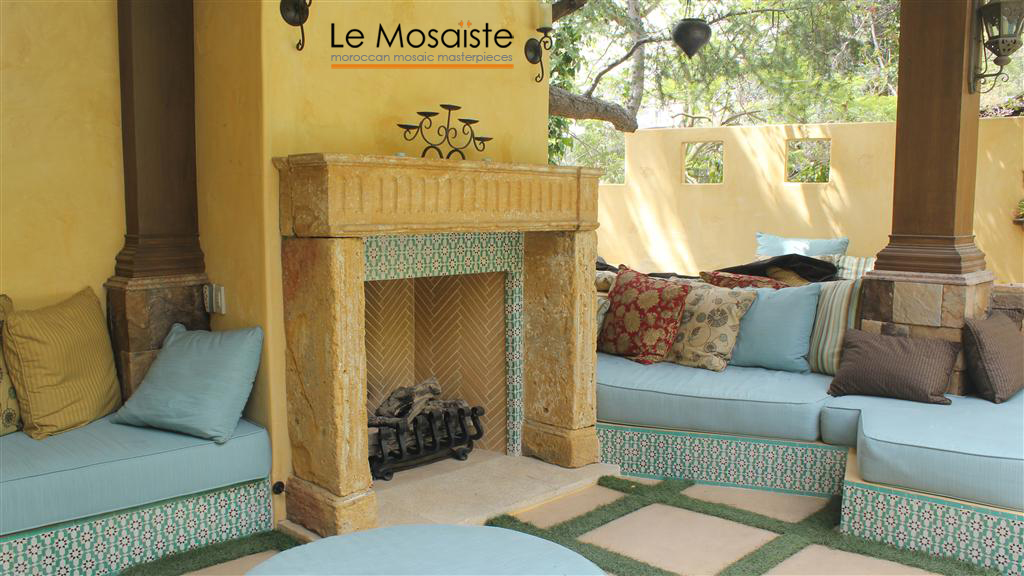 Moroccan Fireplace The Official Zellij Gallery Blog