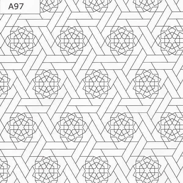 New moroccan mosaic tile patterns the official zellij for How to draw mosaic patterns