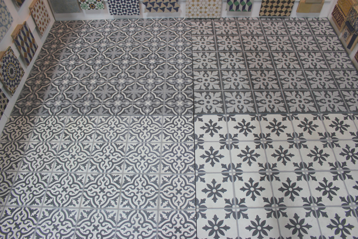 Cement Floor Tile Encaustic Cement Tile Floor By
